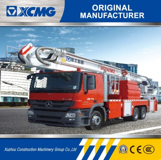 China XCMG Official Dg34m2 34m Fire Fighting Truck with Ce - China