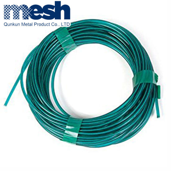 China Hot Sale PVC Coated Galvanized Iron Wire Supplier - China PVC ...
