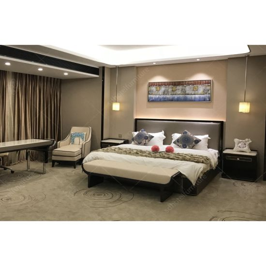 Top Sale High Qualiy Lxury Wooden Marble Bedroom Hotel Furniture pictures & photos