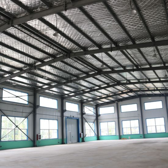 Economical Color Steel Sandwich Panel Prefabricated House Warehouse Workshop pictures & photos