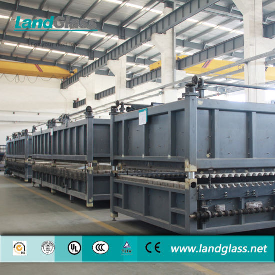 Landglass Force Convection Glass Tempering Machine Plant pictures & photos