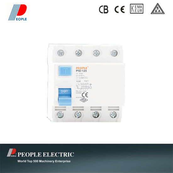 China Residual Current Circuit Breakers Household RCCB Pid-125 ...
