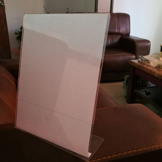 Wholesale Clear Plastic Acrylic Sign Holder 8.5 X 11