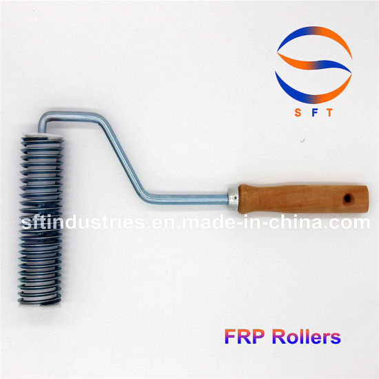 1'' Flexible Spring Rollers Paint Rollers FRP Tools for FRP