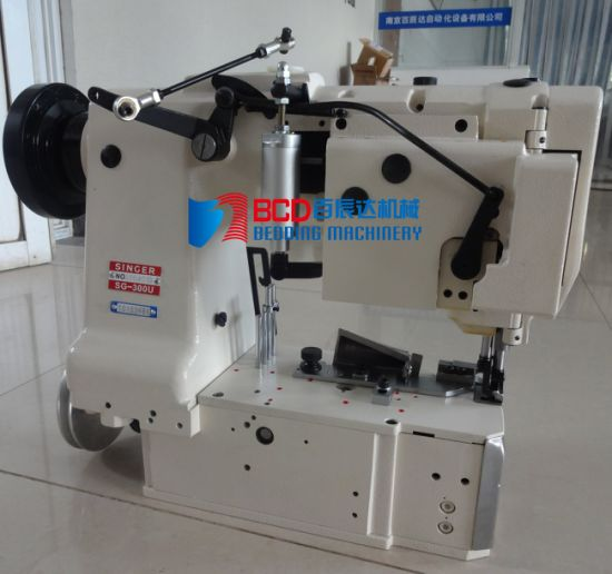 Mattress Tape Edge Machine From China (BWB-4C) pictures & photos