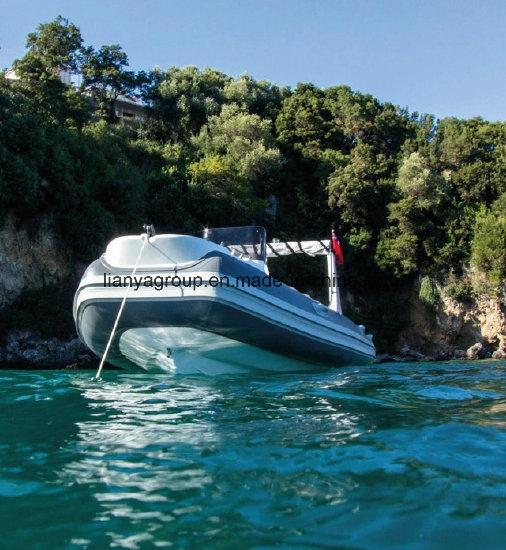 Liya 19 Feet Fiberglass Fishing Boat Rib Boat Inflatable Boat