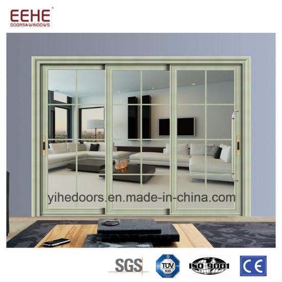 China Wholesale Glass Sliding Door Aluminum Entry Doors  sc 1 st  Guangdong EHE Doors \u0026 Windows Industry Co. Ltd. & China Wholesale Glass Sliding Door Aluminum Entry Doors - China ...