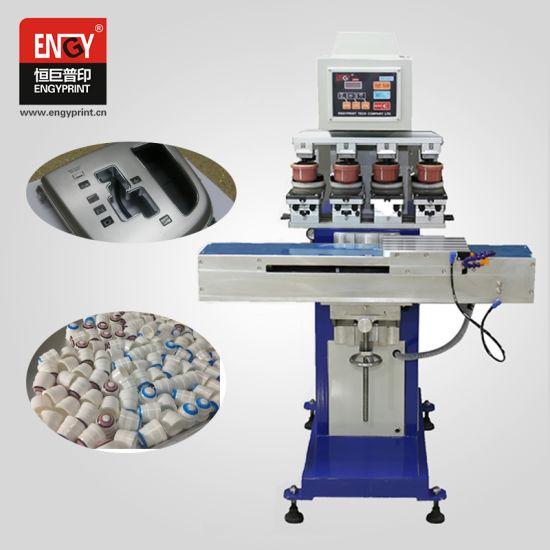 china mini logo printing machine manual pad printer with ink cup