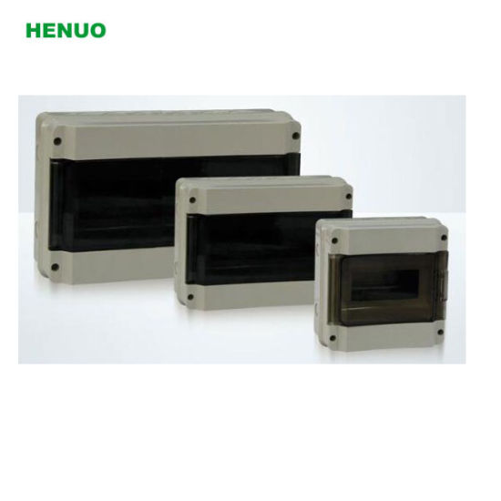 Ht IP65 Plastic Distribution Box with Rohs Certificate pictures & photos