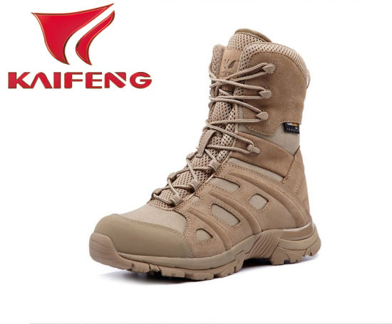 New Design Desert Color Cow Leather Military Boots Oaklay