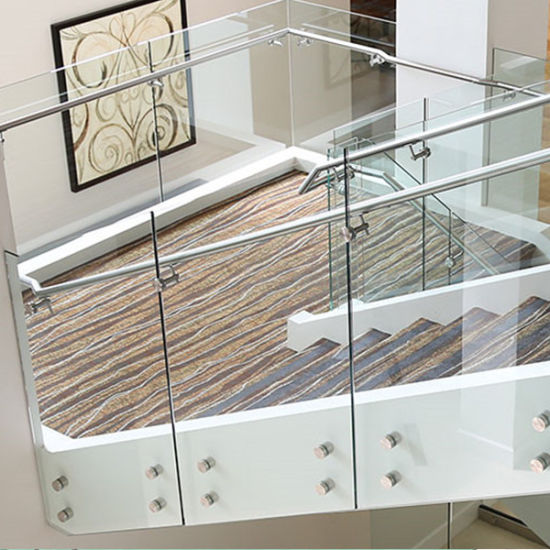 China Modern Balcony Glass Railing Design with Stainless ...
