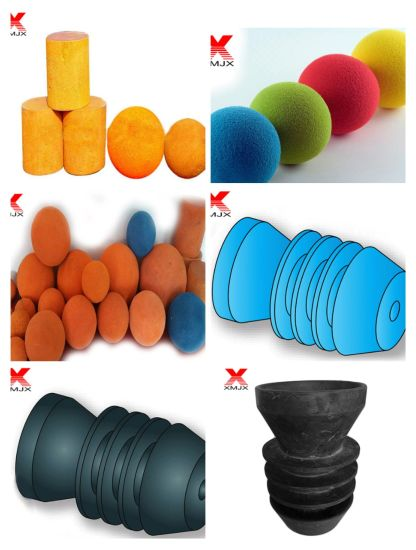 High Quality Concrete Pumps Cleaning Sponge Ball