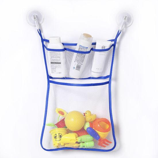 Bath Toy Organizer  The Original Tub Cubby Quick Dry Bathtub Mesh Net  Esg10443