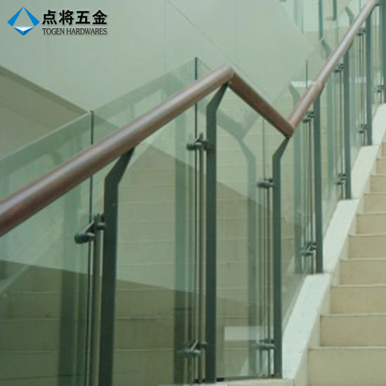Customized Design Staircase Glass Railing Baluster With Factory Price