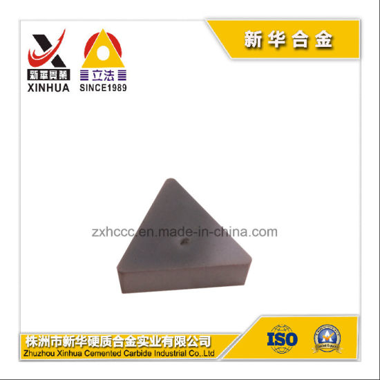 Cemented Tungsten Carbide Milling Inserts (TPKN2204PDR) for Machine Cutting Tools