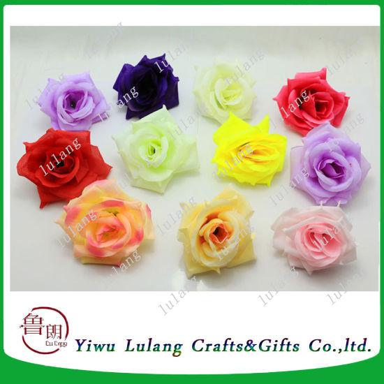 China simulation fake rose silk flower heads wedding party diy craft simulation fake rose silk flower heads wedding party diy craft mightylinksfo