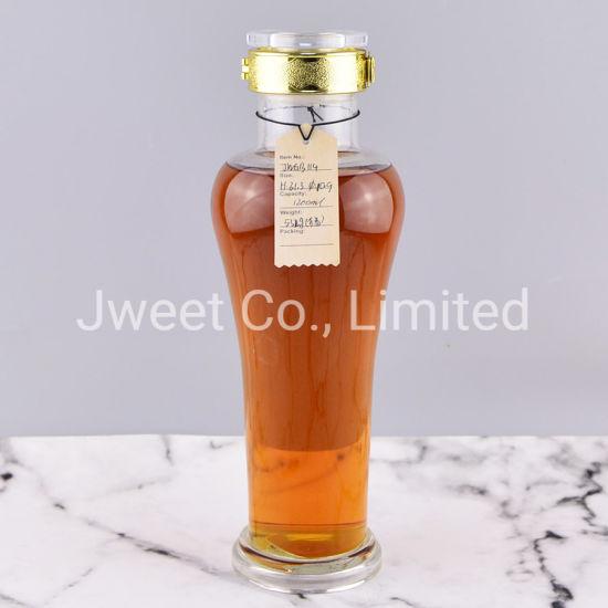 Factory Wholesale Special Shape 1200ml Liquor Glass Bottle