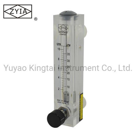 Variable Area Water Air Flow Meter Control Valve