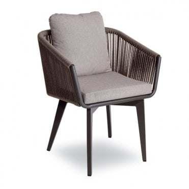 Guangdong Granite Aluminium Garden Furniture Outdoor Dining Chair