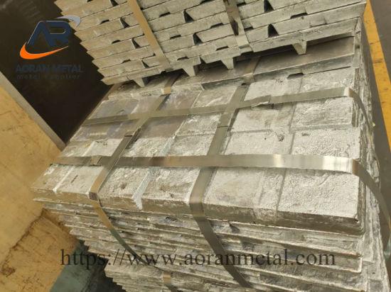 Buyer Allowed Supervision Loading Zinc Ingot Direct Supply