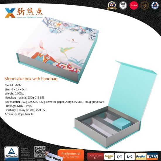 Manufacturer Custom Luxury Cardboard Handmade Paper Packaging Gift Mooncake Box
