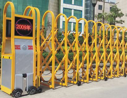 Remote Control Gates and Crowd Control Barrier