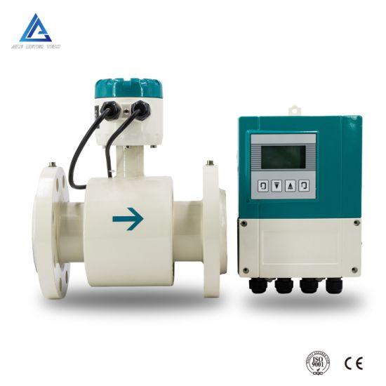 Big Discount Carbon Steel Body Electromagnetic Hot Water Flowmeter Hot Water Flow Meter