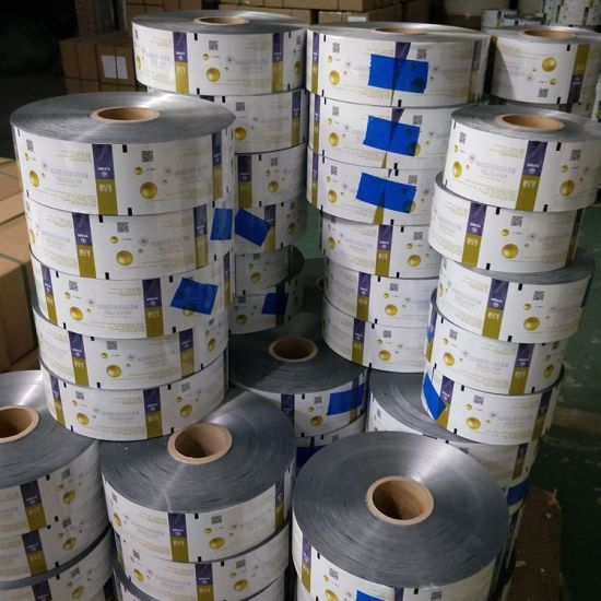 Plastic Roll Stock Nuts Food Candy Chocolate Bar Packaging Printed BOPP Film Plastic Pre-Roll