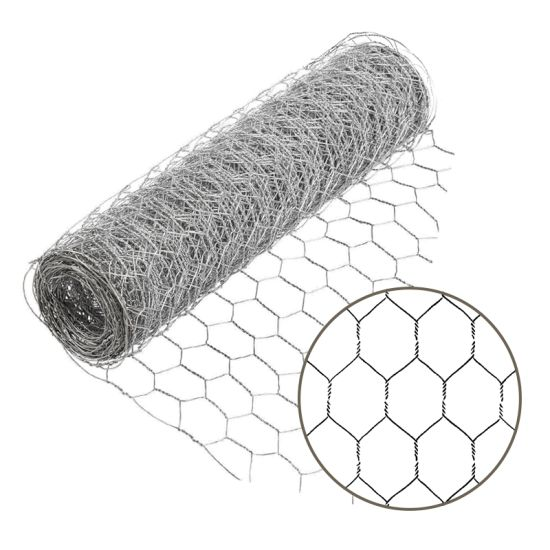 Amazon Ebay's Choice PVC Coated or Galvanized Hexagonal Chicken Wire Mesh for Poultry (HWM)