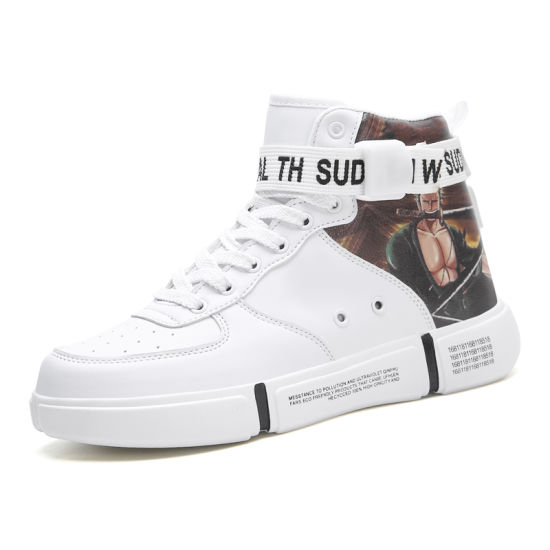 High Top Board Shoes for Man