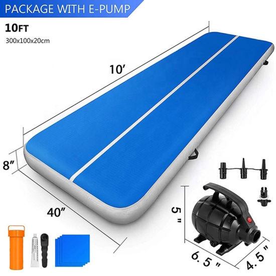 OEM Factory Wholesale Custom Cheap Inflatable Tumble Training Gymnastic Air Track Mattress