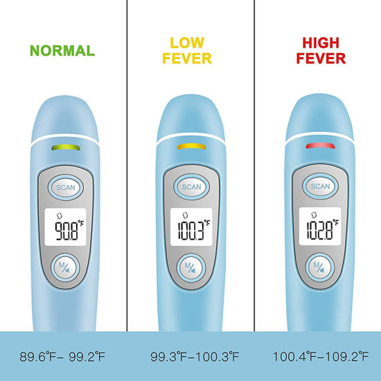 China Best High Accuracy Fever Alarming Thermometer for Forehead and Ear FC-IR100