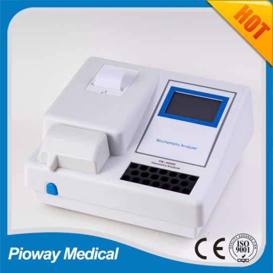 Portable Semi Automatic Blood Test Machine / Clinical Chemistry Analyzer (PW-3000M)