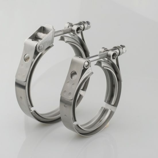 WHWEI Stainless Steel 304 v Band clamp for Turbo Exhaust downpipe v Band exhause clamp Color : 1.5 inch