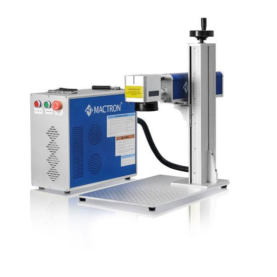 Low Price 20W 30W 50W Portable Fiber Laser Marking Machine for Metal Engraving