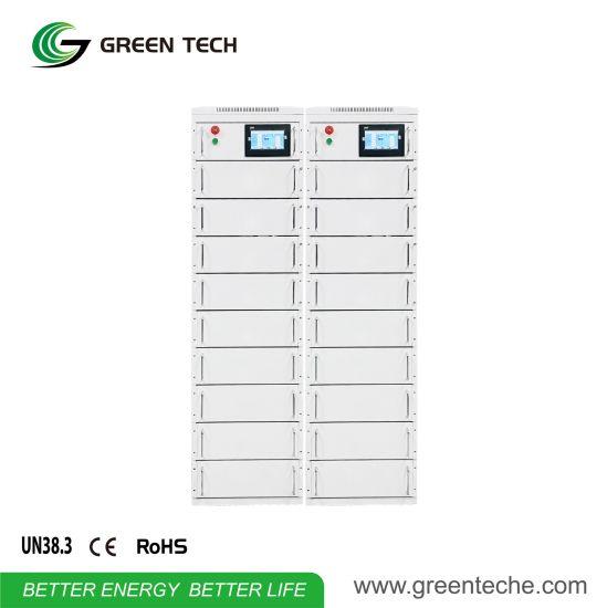 Free Maintenance Solar Power System Graphene Battery Deep Cycle 400V 50kwh Solar Battery