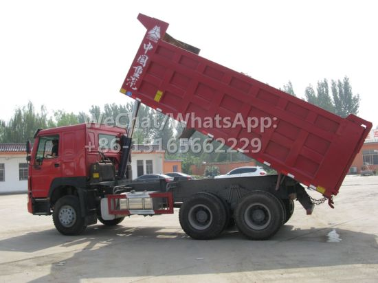 40 Ton Dump Truck Excellent Condition Used Chinese HOWO Tipping Truck 10 Wheeler Used HOWO Dump Truck Price 6X4 2016 Model