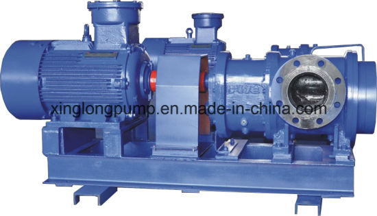 Xinglong Horizontal Twin Screw Pump Used for Marine Cargo Oil, Heavy Oil, Chemicals, Food and Other Viscous Liquids