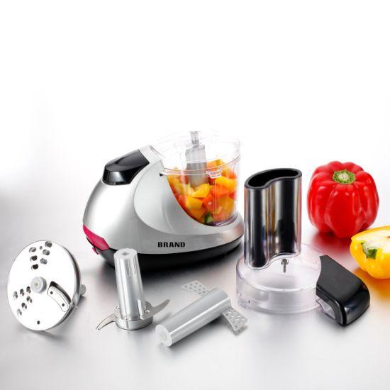 100watt High Quality Mini Food Processor with Chopper Slicer Shredder