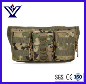 Military Tactical Camouflage Waterproof Outdoor Climbing Cycling Sports Waist Bag (SYSG-1849) pictures & photos