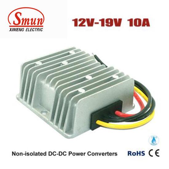 China DC DC Converter 12V to 19V 10A Laptop Power Supply