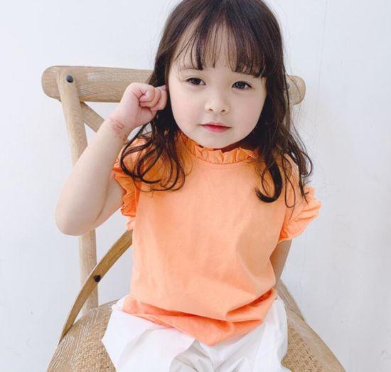 Girls Korean Style T-Shirt Wholesale Baby Shirt