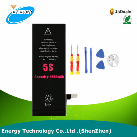 Cell Phone Li-ion Original Phone Battery for iPhone 5s Battery