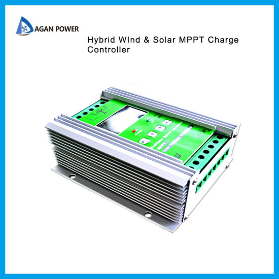 Factory Direct 24V MPPT Solar Wind Hybrid Home System Generator/Collector Controller/ Charge Controller 300W Solar + 500W Wind pictures & photos