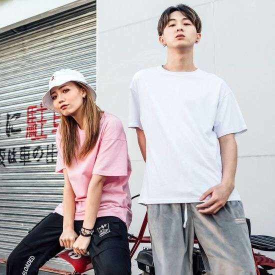 209c6907bd5 Fashion Design Clothes T-Shirt Wholesale Men Women Apparel Simple Style  Custom Plain T Shirt