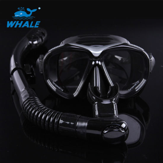 Tempered Glass Diving Masks and Snorkel Dry