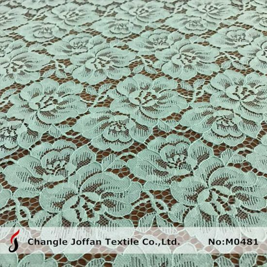 2017 New Fashion Jacquard Flower Lace (M0481) pictures & photos
