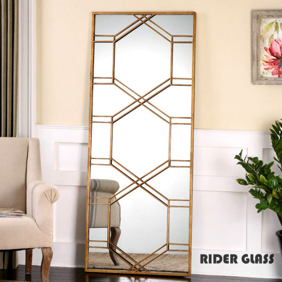 3mm-12mm Glass Mirrors and Bronze Decorations Mirror Glass Decoration Wall Supplier pictures & photos