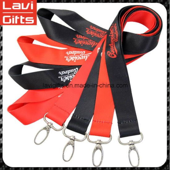 Custom Polyester Lanyard Strap with Printed Logo pictures & photos
