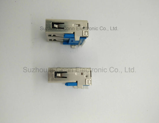USB 3.0 a Type 90 Degree Connector pictures & photos